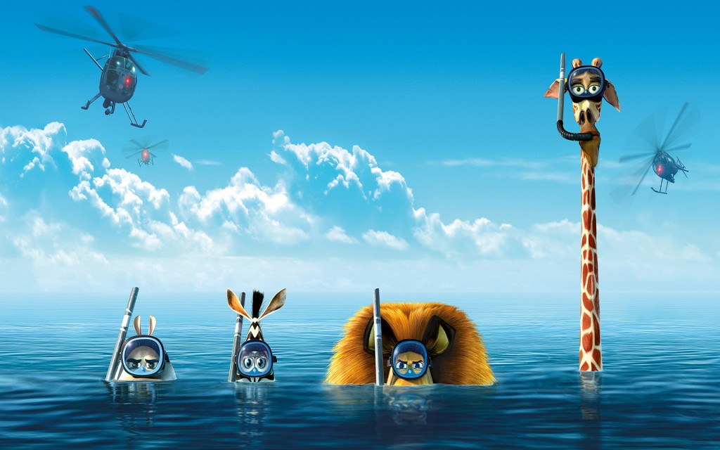 wallpaper de Madagascar 3