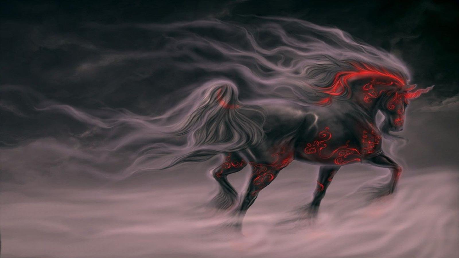 wallpaper de un caballo tatuado