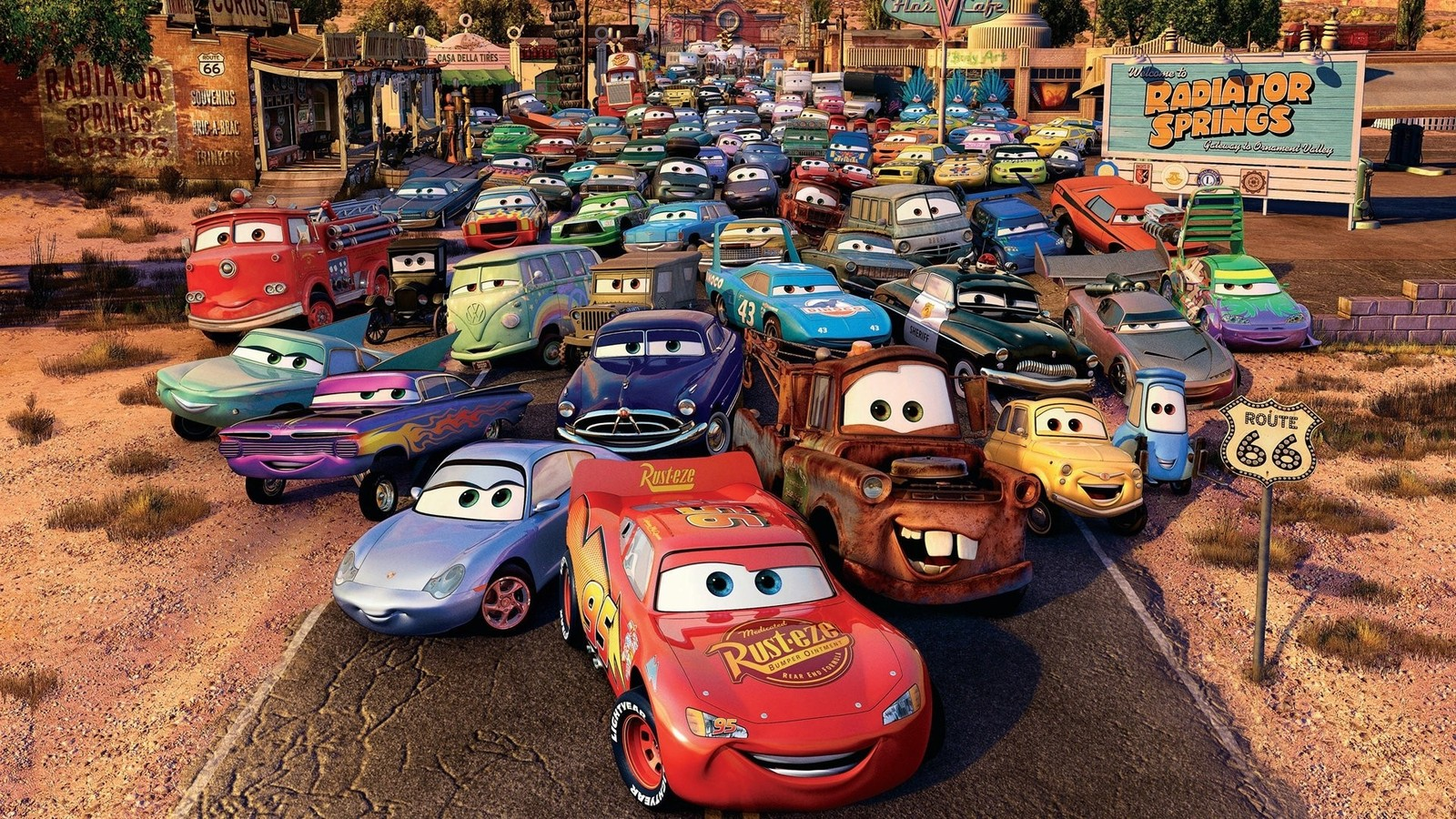 wallpaper de la pelicula cars 2