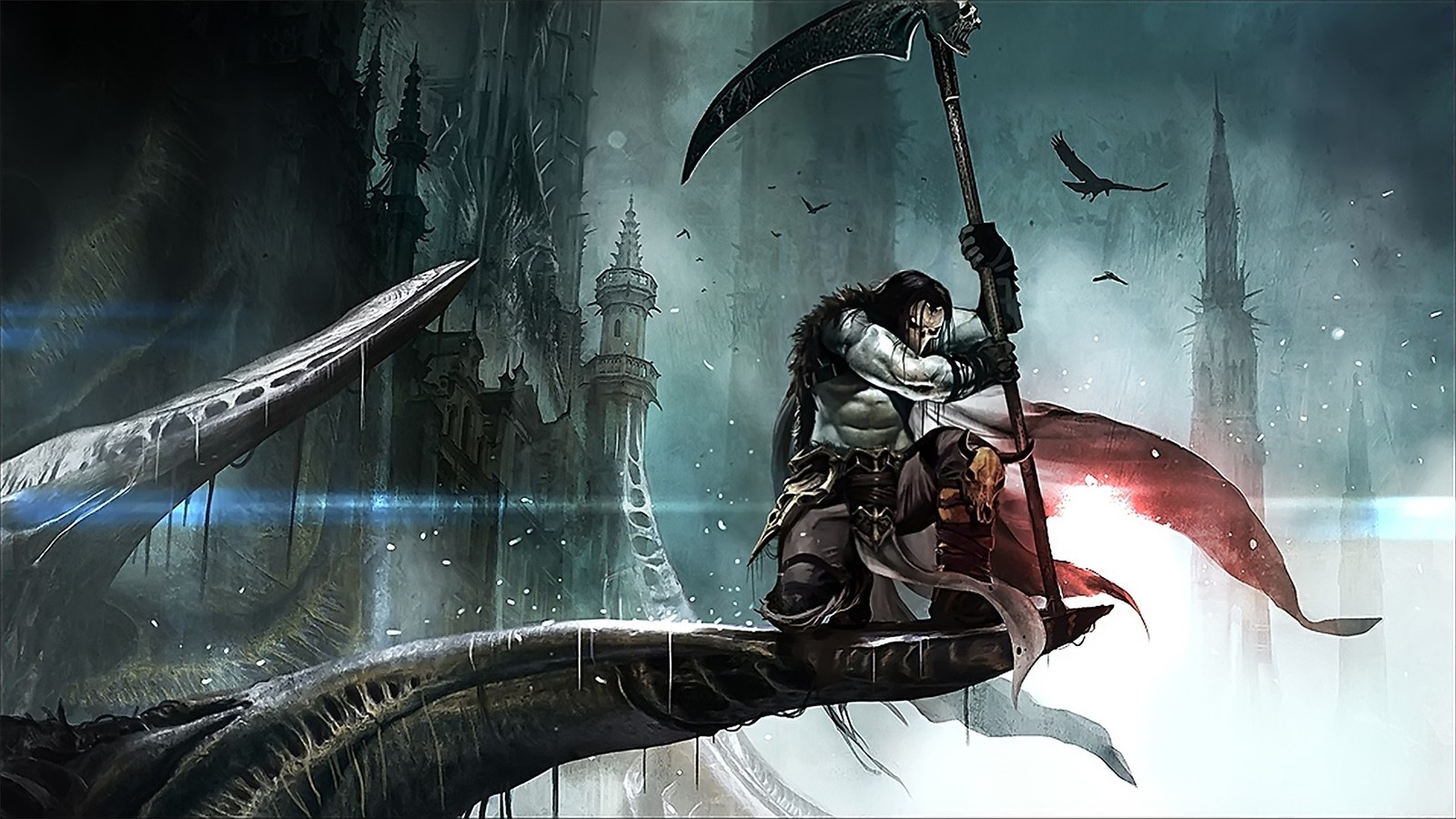 wallpaper del juego citu of darksiders