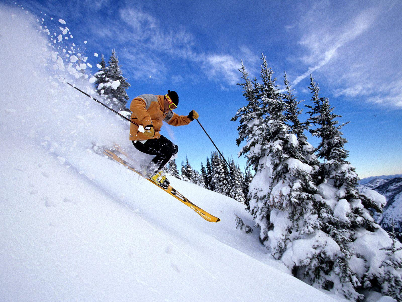 fondo de pantalla de esqui