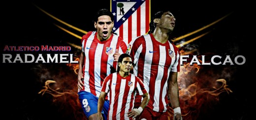 wallpaper Falcao, atletico madrid