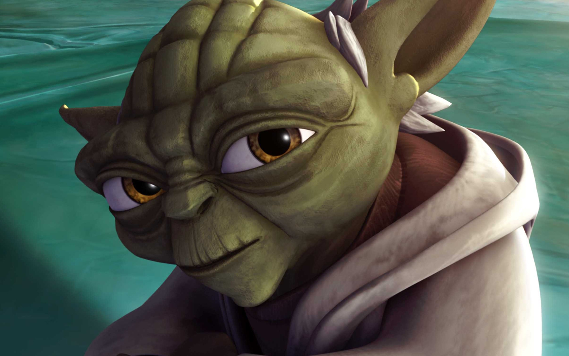 Wallpaper hd del Maestro Yoda
