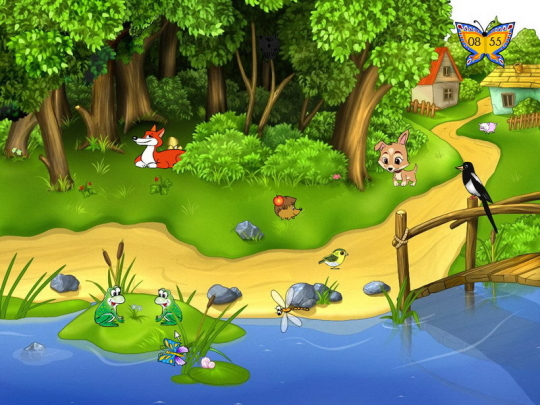 salva pantallas animado Summer Farm