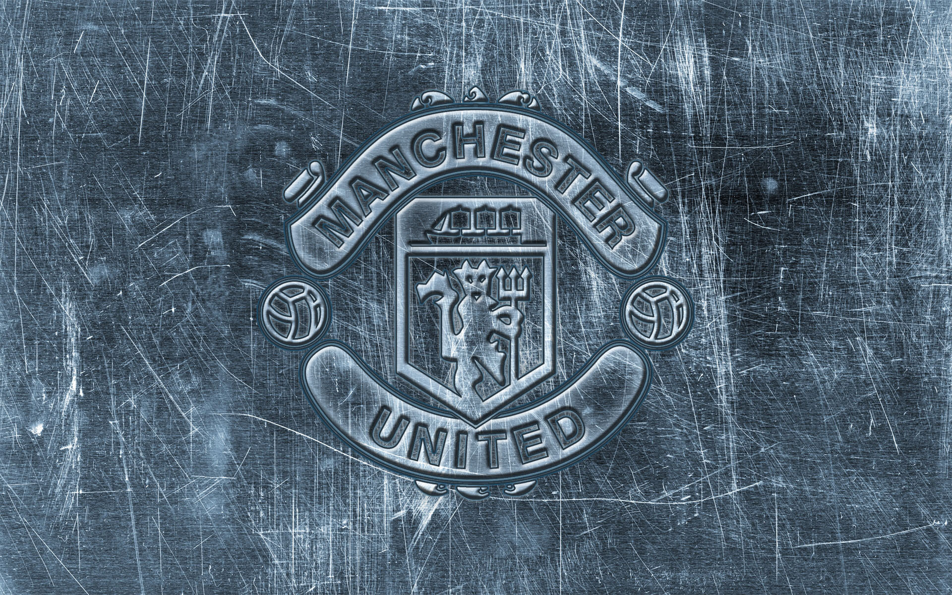 wallpaper logo Manchester United