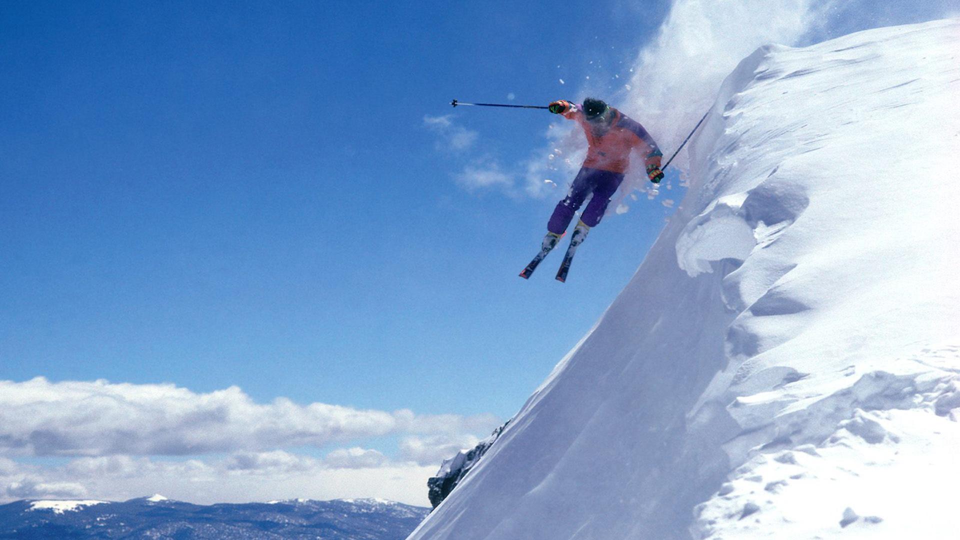 Wallpaper de ski xtremo
