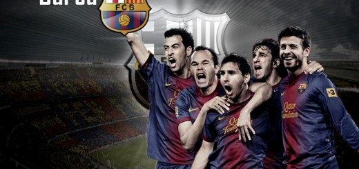 wallpaper equipo f c barcelona 2012