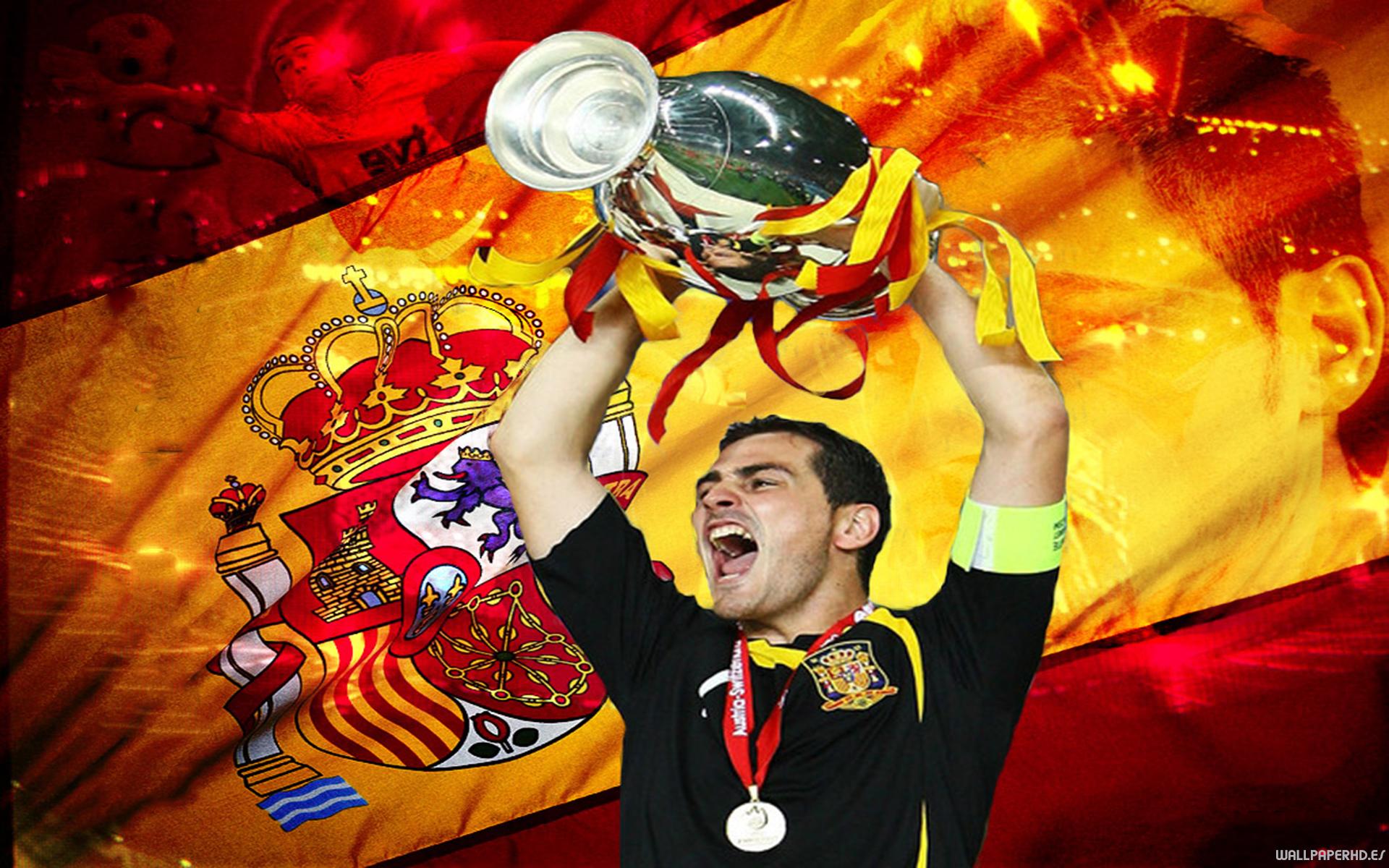 Fondo Espana Hd: Casillas-espana-wallpaperhd