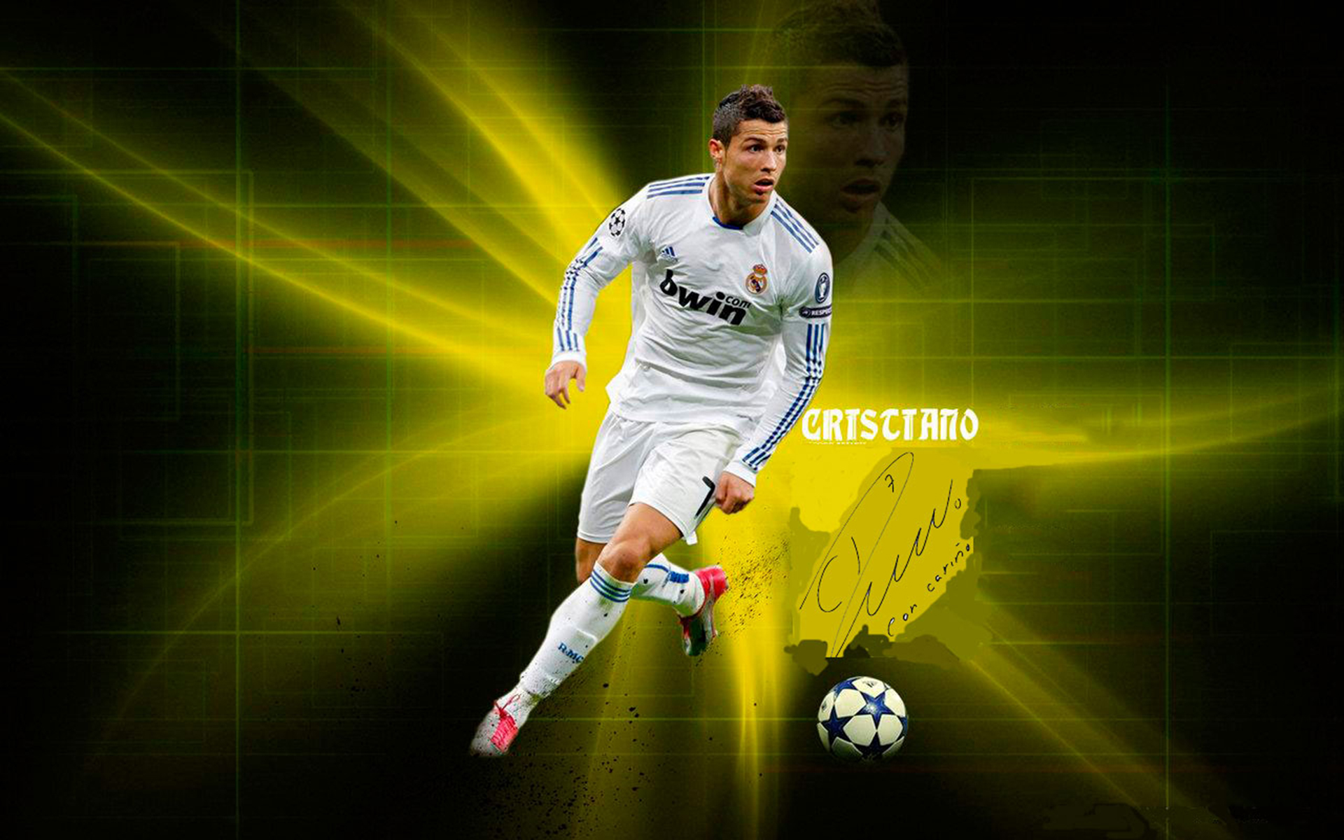 Fondos De Pantalla De Cristiano Ronaldo: Imagenes De Lionel Messi Y Cristiano Ronaldo Para Fondo De