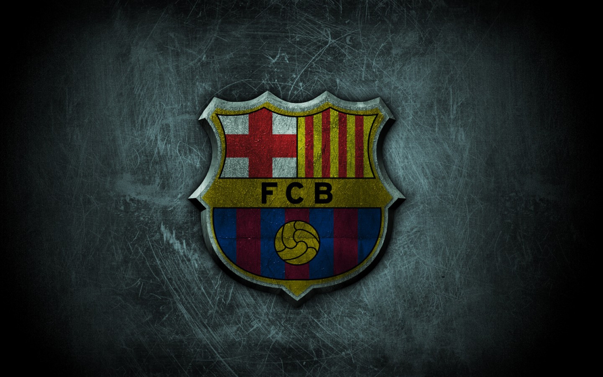 wallpaper hd del Escudo del f.c Barcelona