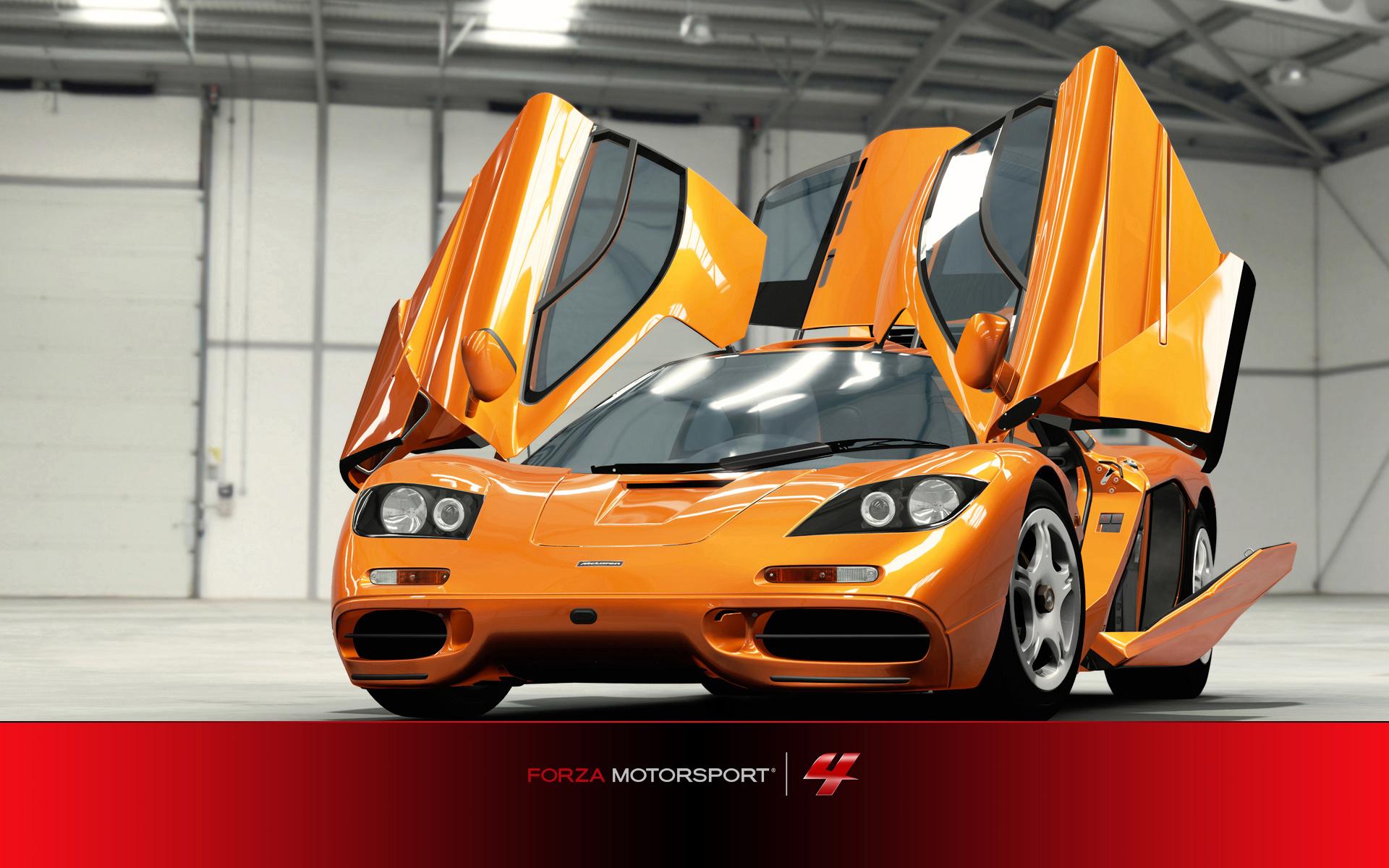 wallpaper hd del juego forza motorsport4 coche puertas alas