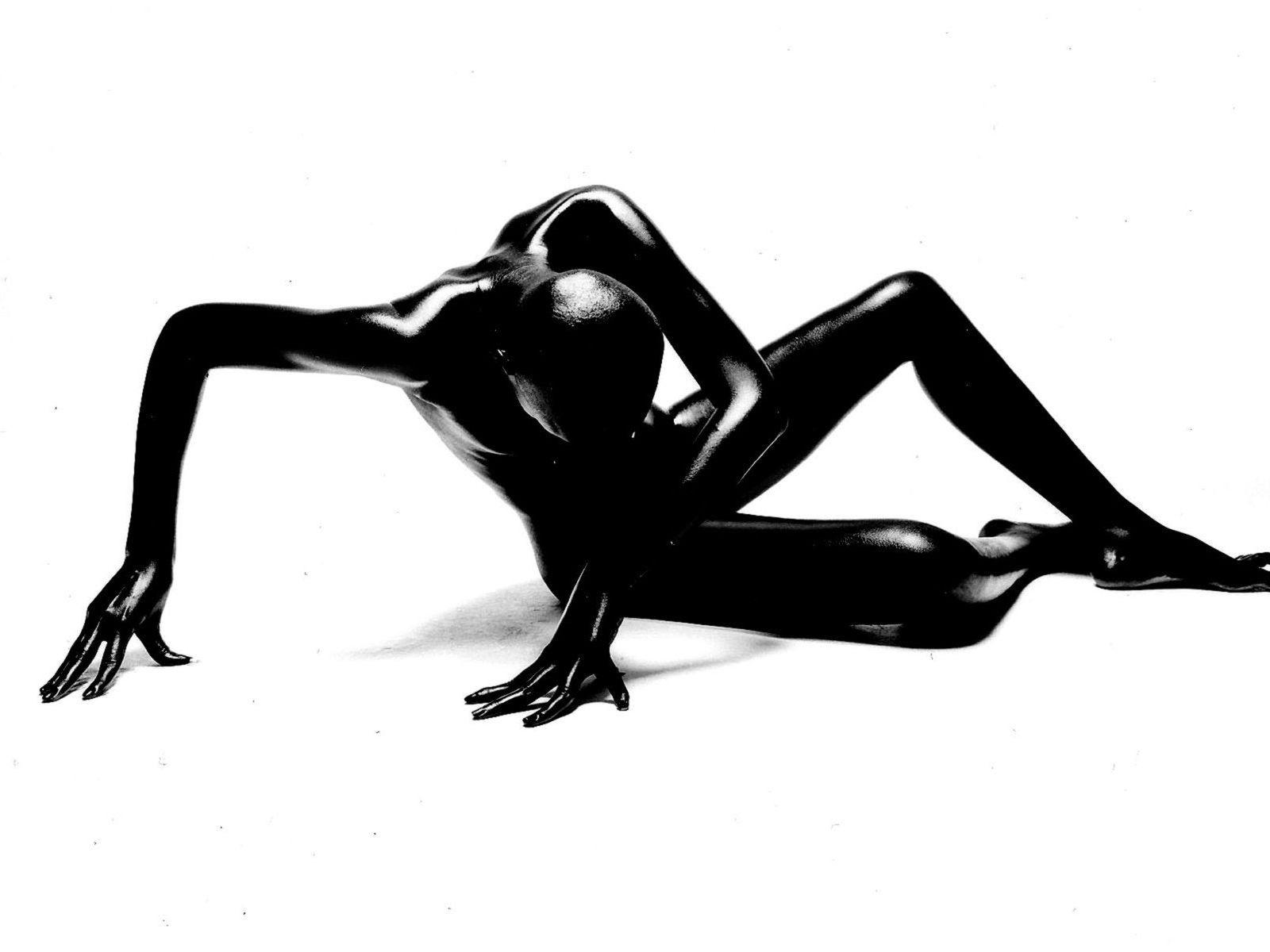 wallpaper figura hombre negro