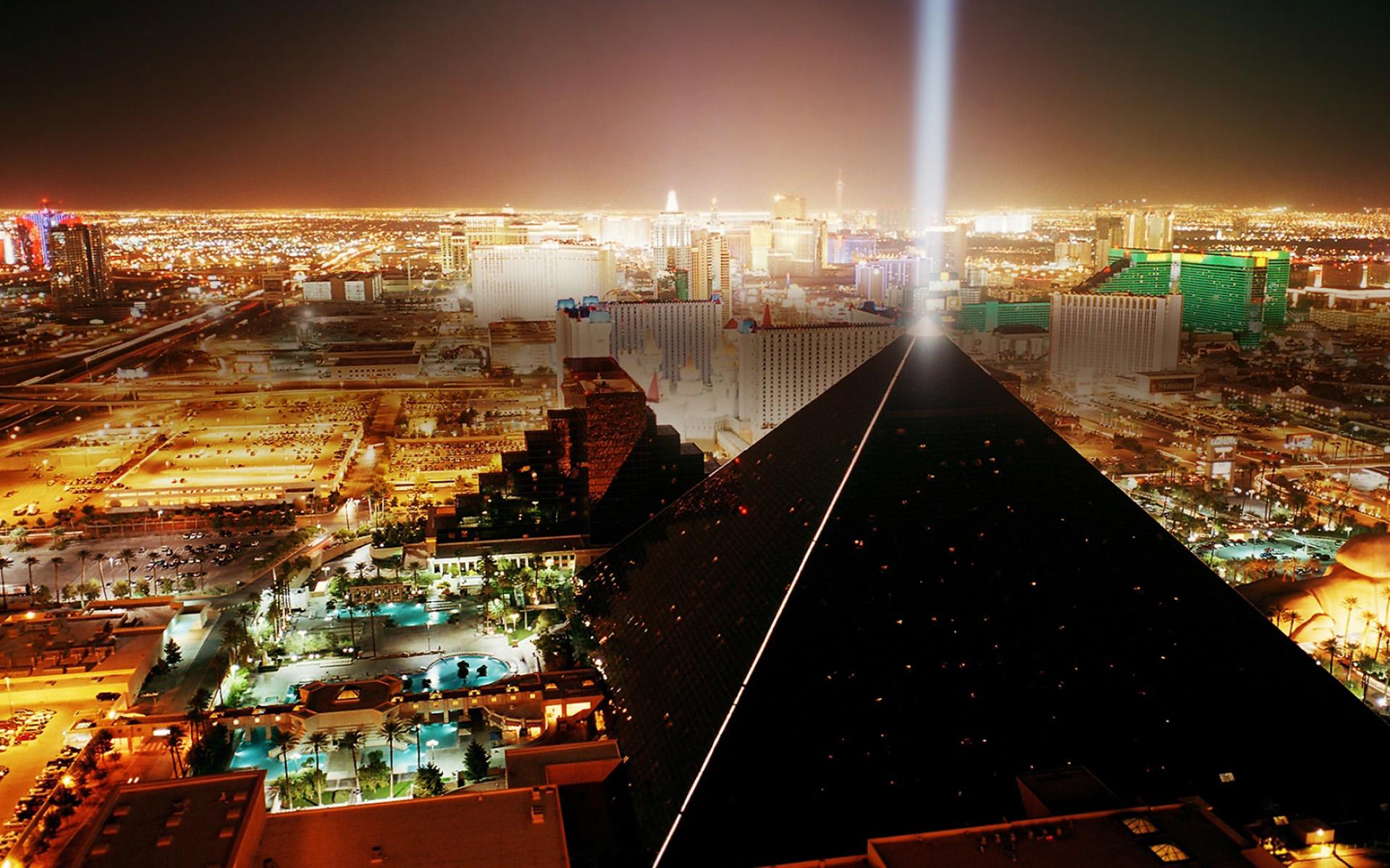 wallpaper hd vista de Las Vegas