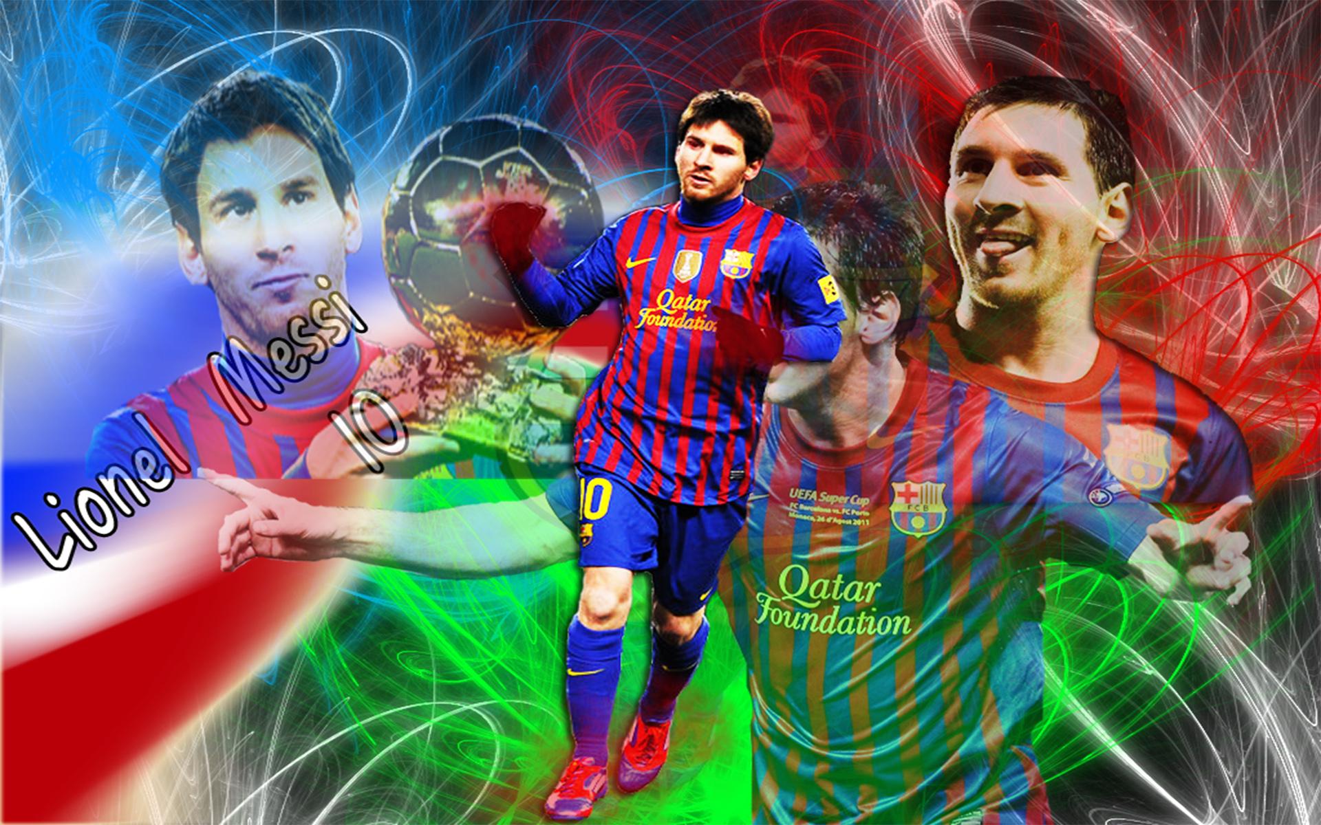 wallpaper hd de Lionel Messi