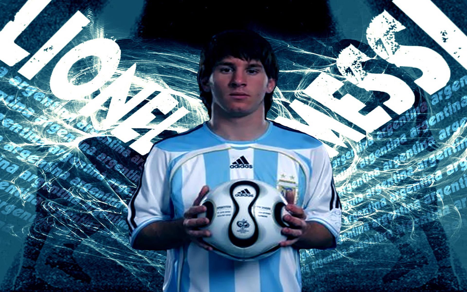 wallpaper hd messi con argentina