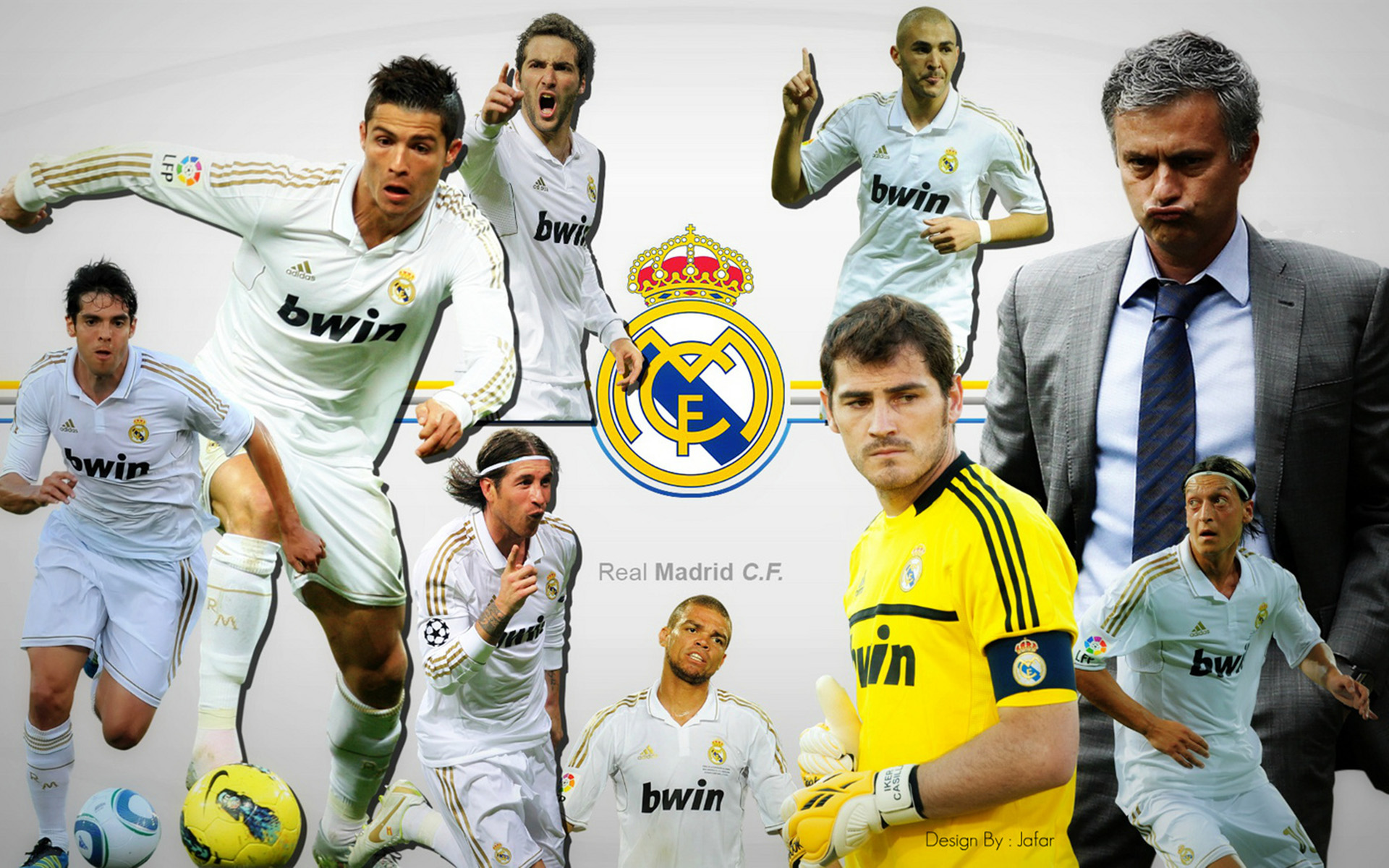 wallpaper hd equipo real madrid 2012