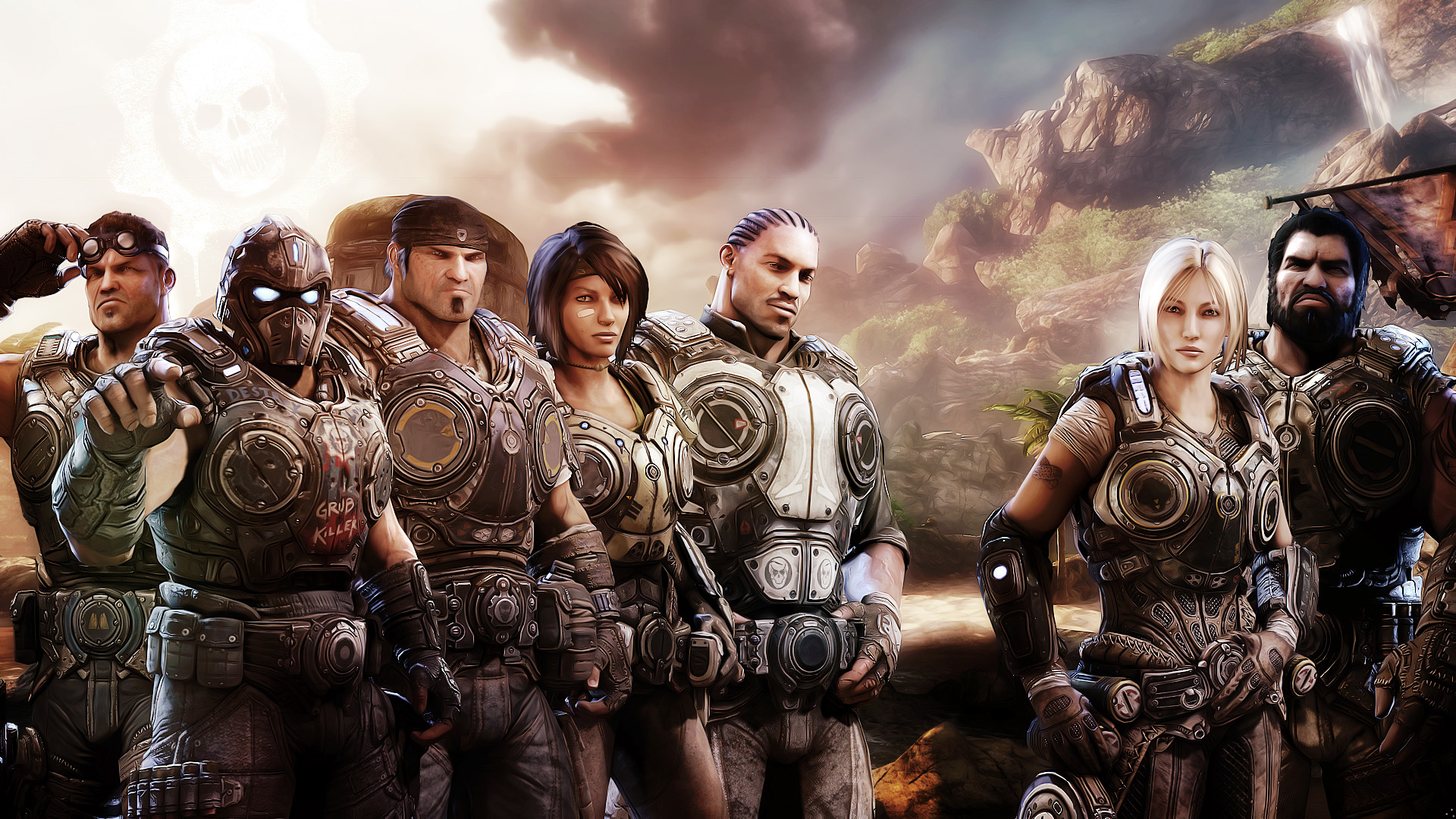 wallpaper hd The Gears of War