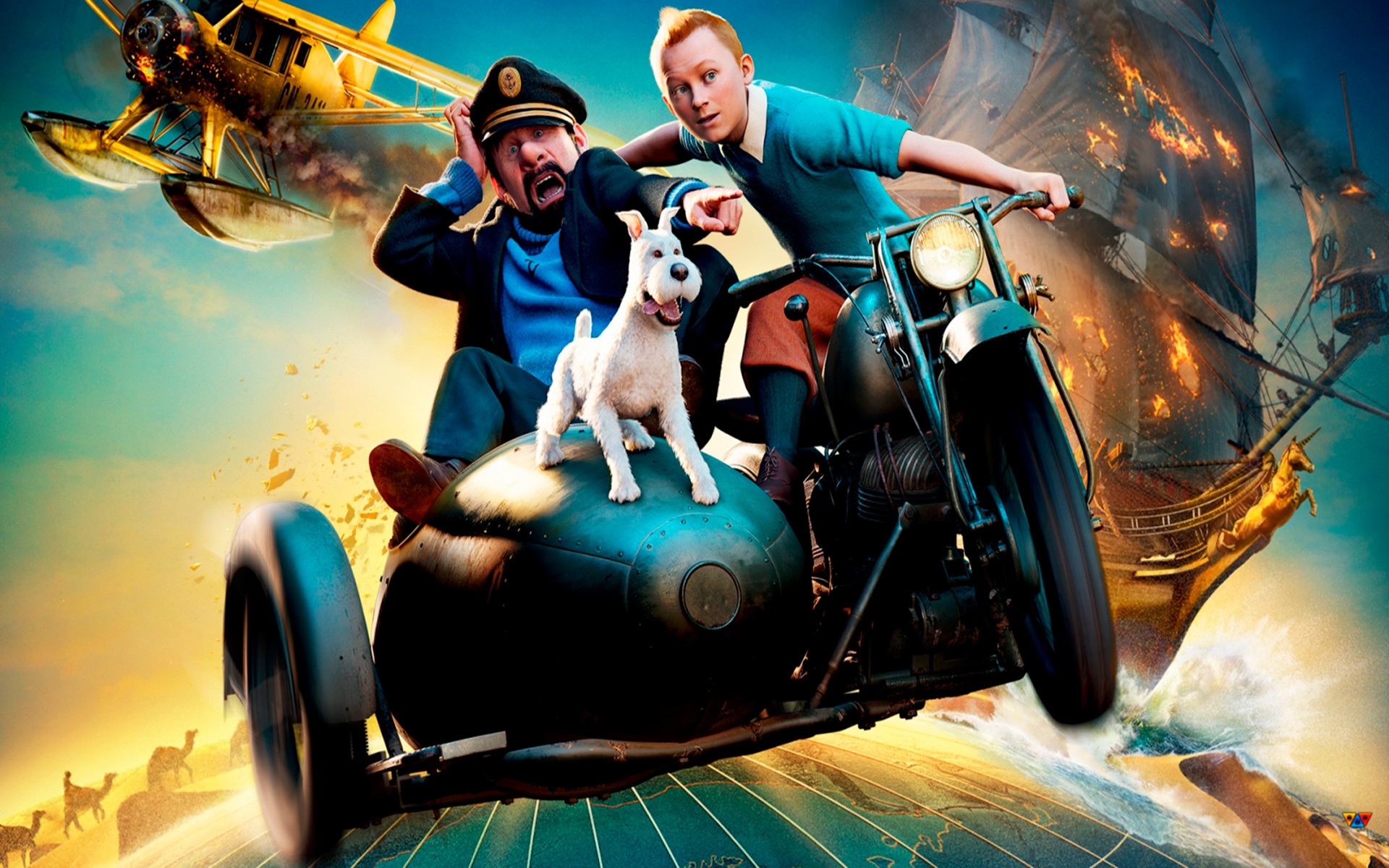 wallpaper hd tintin