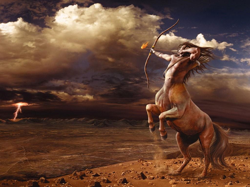 wallpaper hd de un centauro