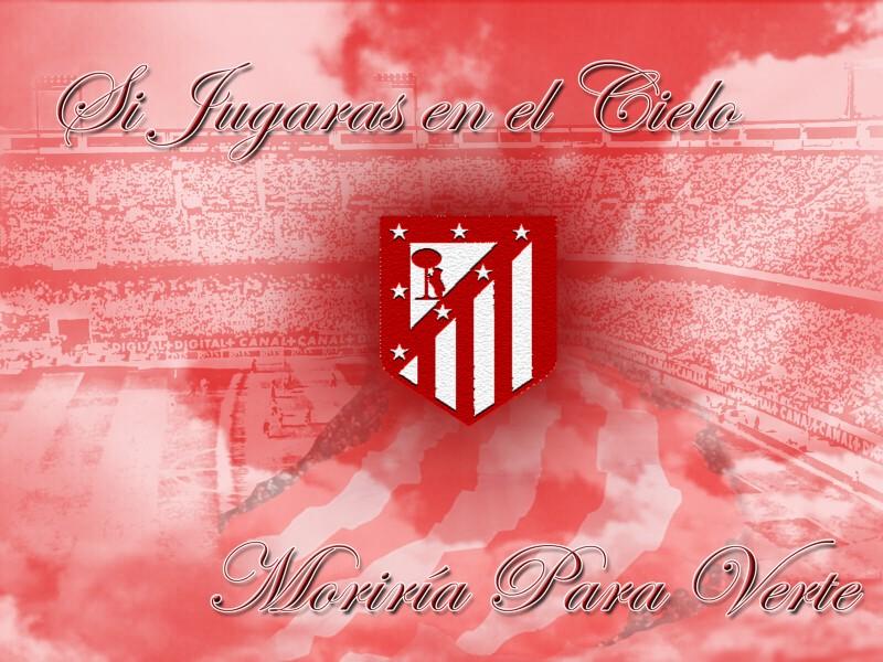 wallpaper hd del escudo del club de futbol atletico de madrid