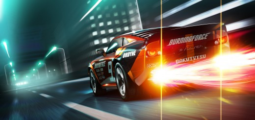 Wallpaper hd del juego ridge racer 3d