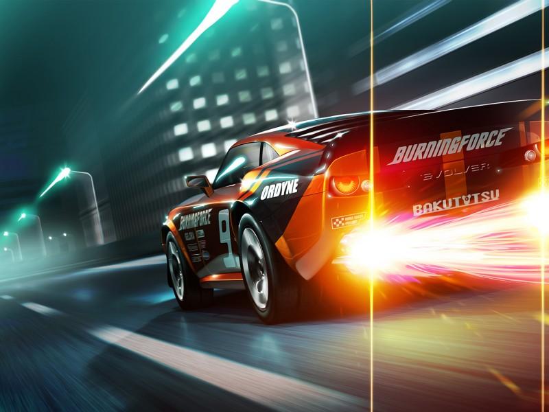 Wallpaper hd del juego ridge racer 3d