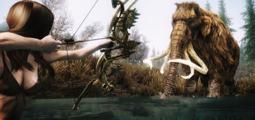 wallpaper hd del juego skyrim bow