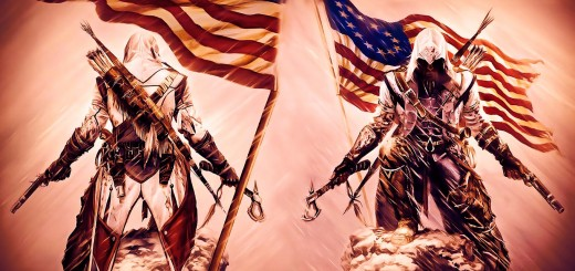 wallpaper hd de assassians creed 3. Bandera de ee.uu