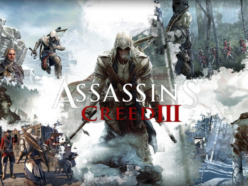 wallpapwe hd de assassians creed III. cartel del juego