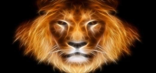 leon con efectos especiales