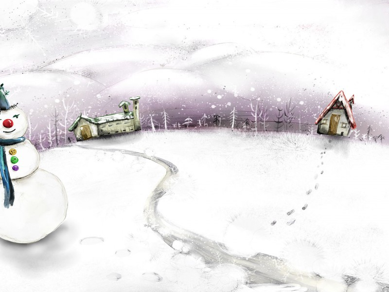 wallpapers hd de navidad muñeco de nieve