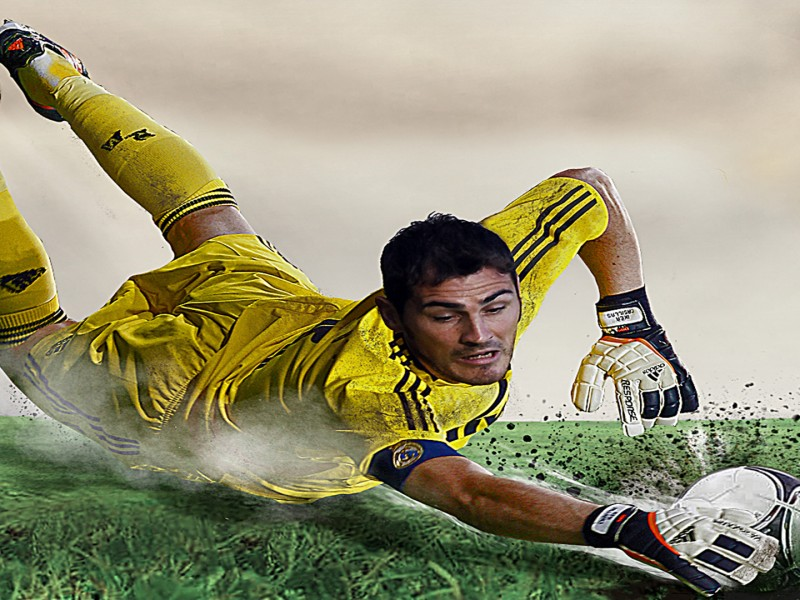 Iker Casillas portero real madrid y seleccion española