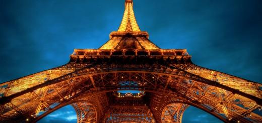 torre eiffel de noche wallpaper hd