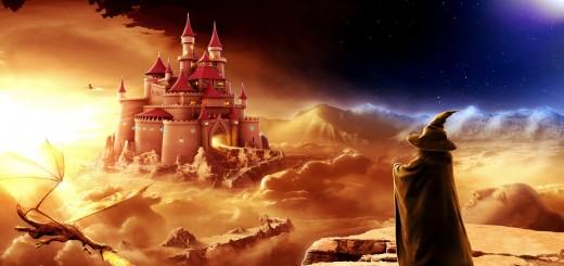 castillo y mago fondos de pantalla hd