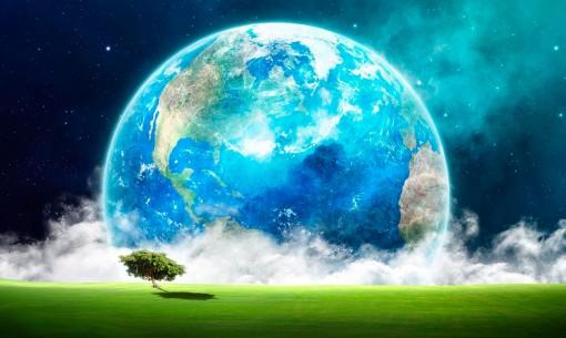 el mundo en un paisaje