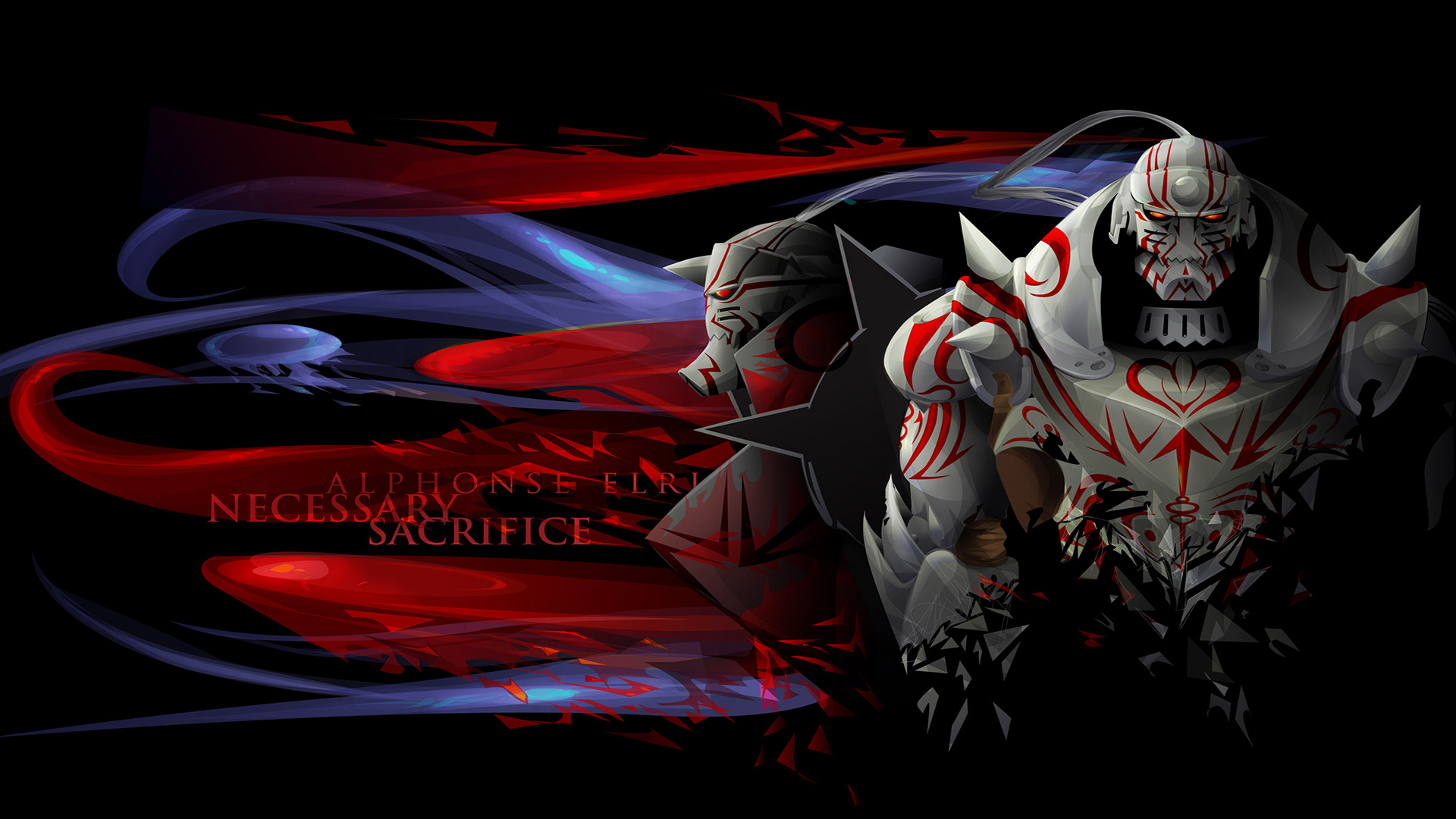 wallpaper anime alphonse elric